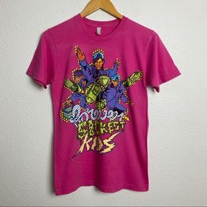 Forever the Sickest Kids American Apparel Pink Tee
